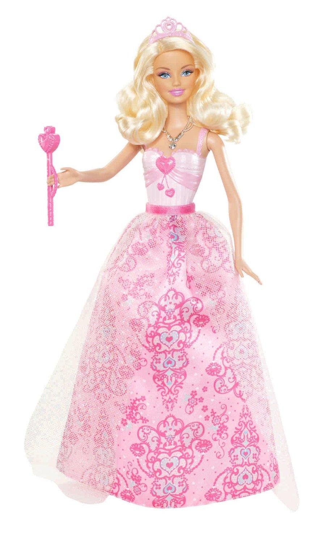 Принцесса и розовое платье